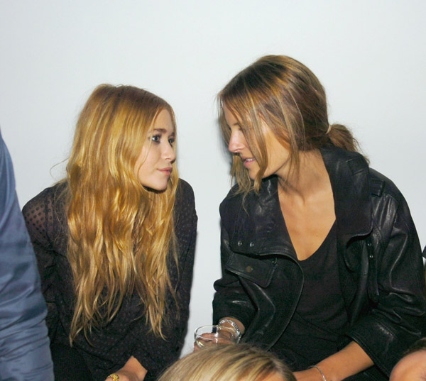 with Mary Kate Olsen