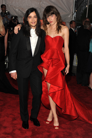 at the met gala 2009