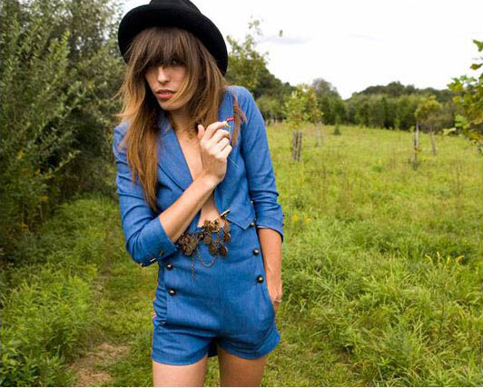 Lou Doillon for Lee Cooper Jeans