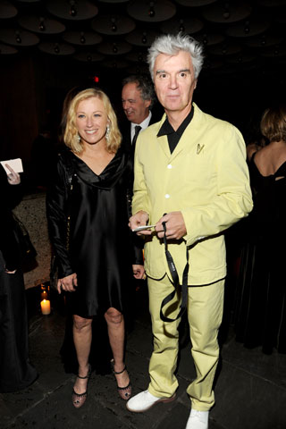 CINDY SHERMAN AND DAVID BYRNE!! NO WAY!!!